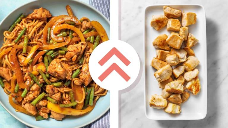 Chicken Breast Chow Mein