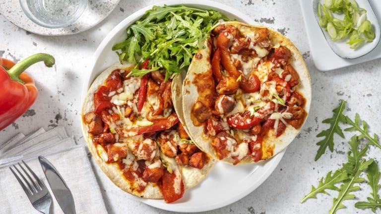 Chicken Fajita Tortizza