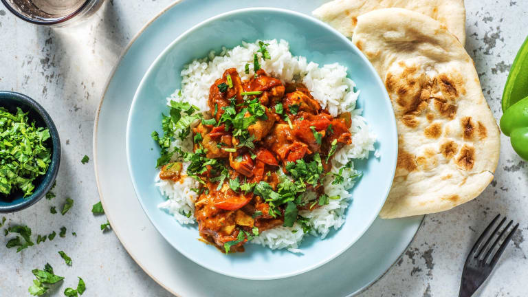 Chicken Jalfrezi Style Curry