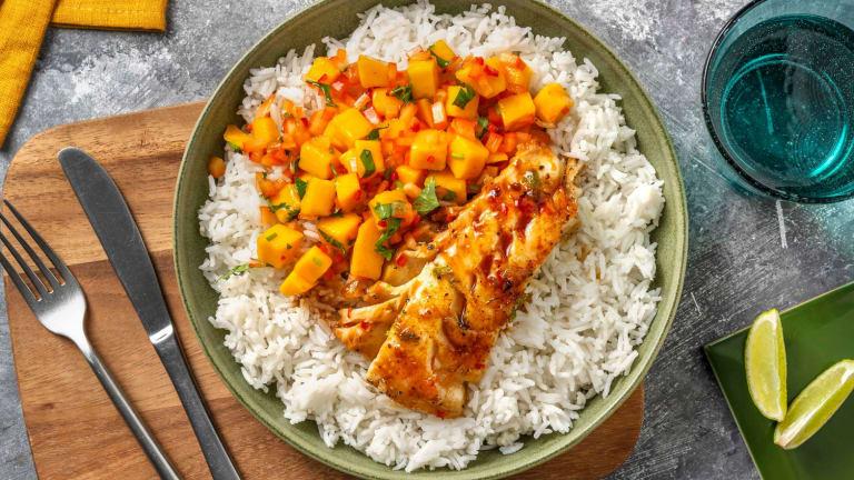 Chili- og sojastegt torsk
