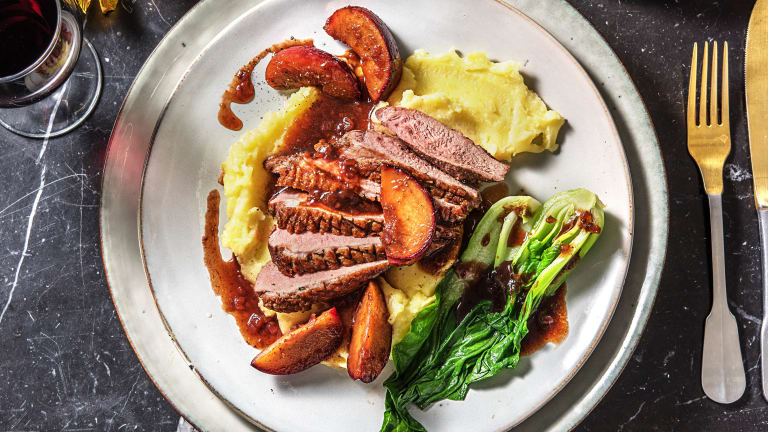 Spiced Duck Breast & Plum Sauce