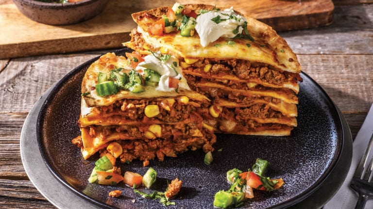 Clark's Mexican Beef Tortilla Stack