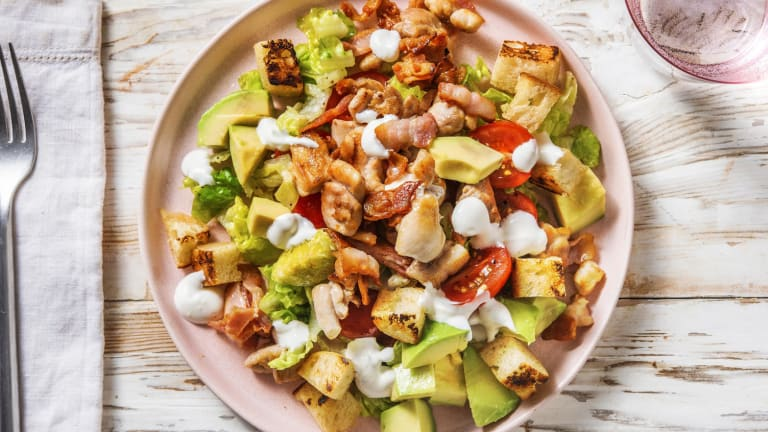 Chicken Thigh and Bacon Cobb Salad