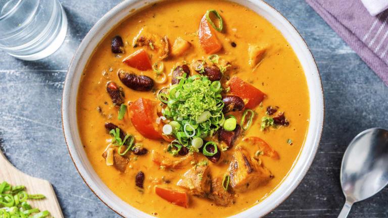 Veggie Coconut Caribbean Soup