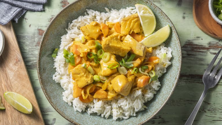 Coley Massaman Curry