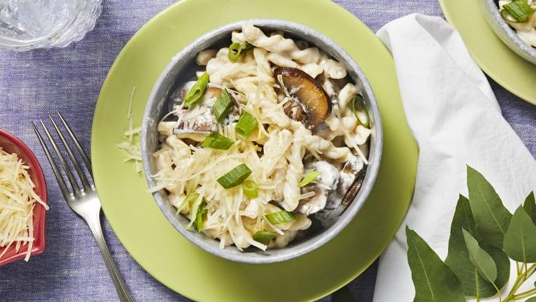 Creamy Dreamy Mushroom Gemelli