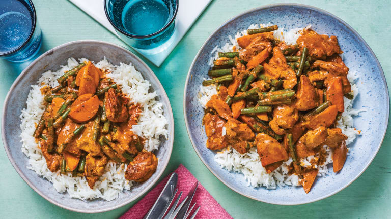 Creamy Indian Coconut Chicken Curry
