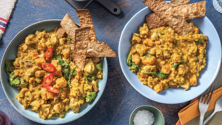 Creamy Indian Chicken & Red Lentil Curry