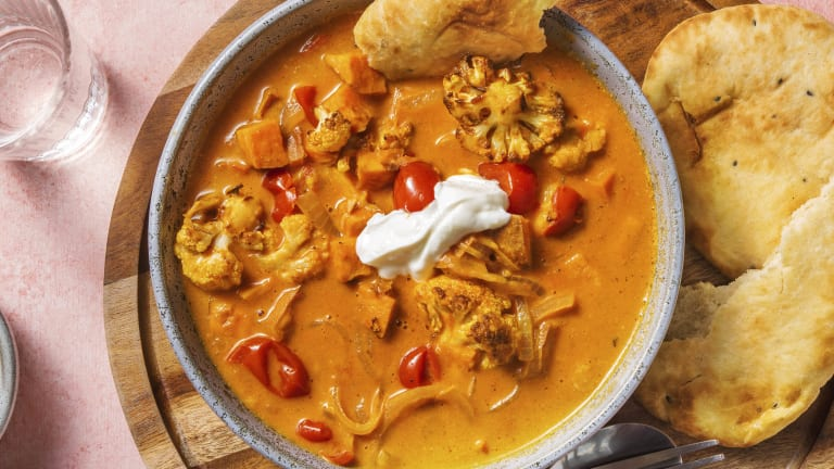 Creamy Roasted Vegetable Curry