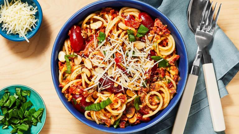 Sundried Tomato & Basil Spaghetti