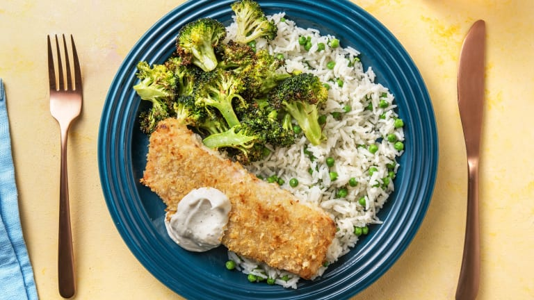 Crispy Roasted Salmon and Broccoli