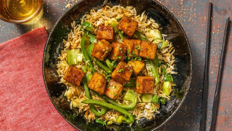Crispy Szechuan  Tofu