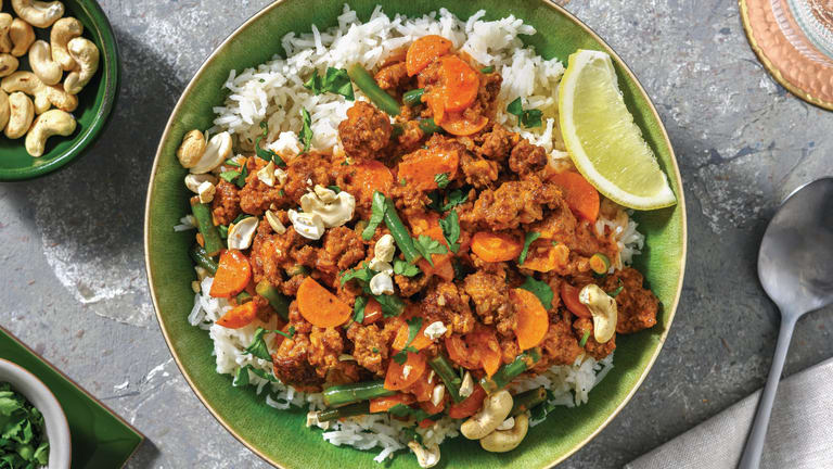 Indian Beef & Veggie Keema Curry