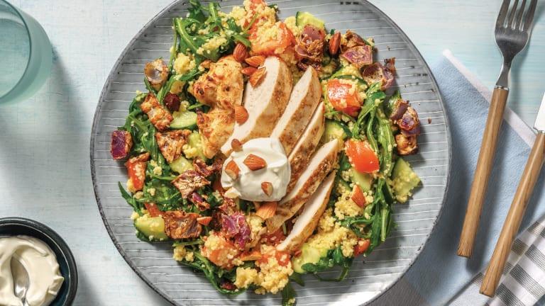 Easy Yoghurt Chicken & Couscous Salad