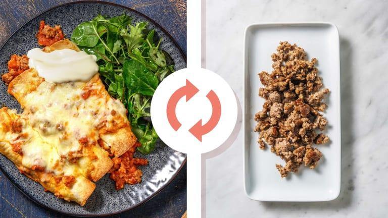 Turkey and Ricotta Enchiladas
