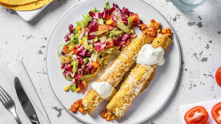 Enchilada's met kipgehakt