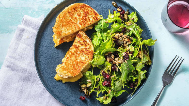 Fig and Brie Grilled Cheese