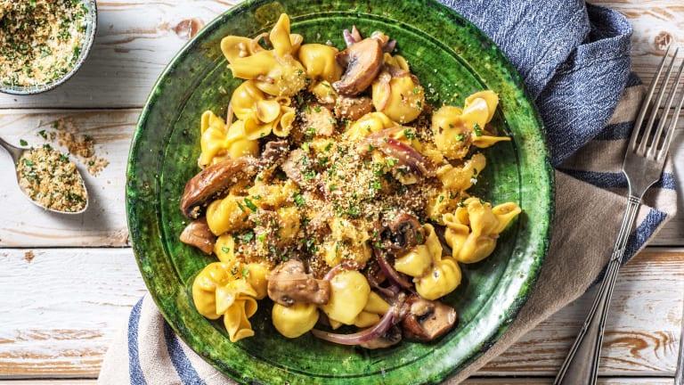 Fiorelli! Pastataschen mit Pilzfüllung