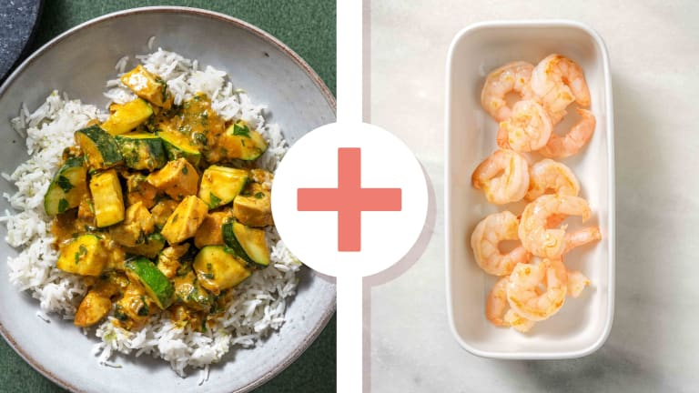 Fragrant Chicken and Prawn Curry