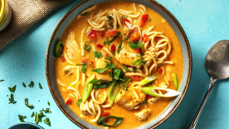 Fragrant Chicken Laksa