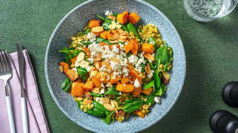 Moroccan Spiced Freekeh
