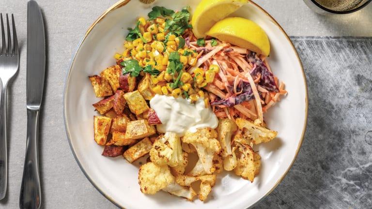 Louisiana Spiced Cauliflower & Kumara Bowl