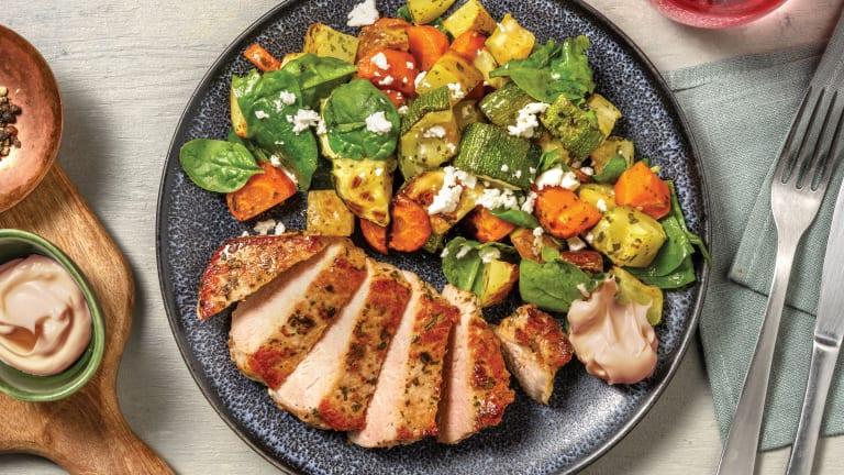 Garlic & Honey Pork Steaks