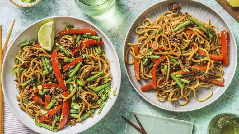 Ginger Beef Noodles