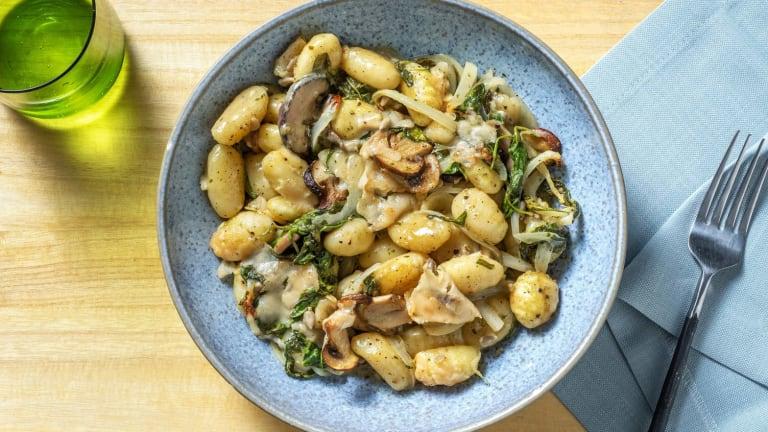 Gnocchi-Spinat-Auflauf