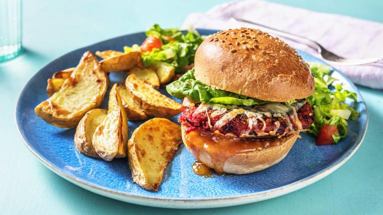 Goan Spiced Beet Burger (v)