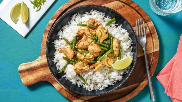 Green Thai Style Chicken Curry