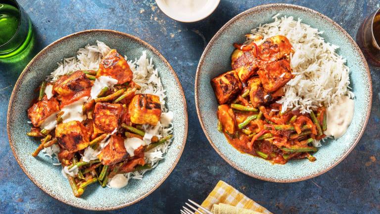Halloumi & Mango Chutney Curry