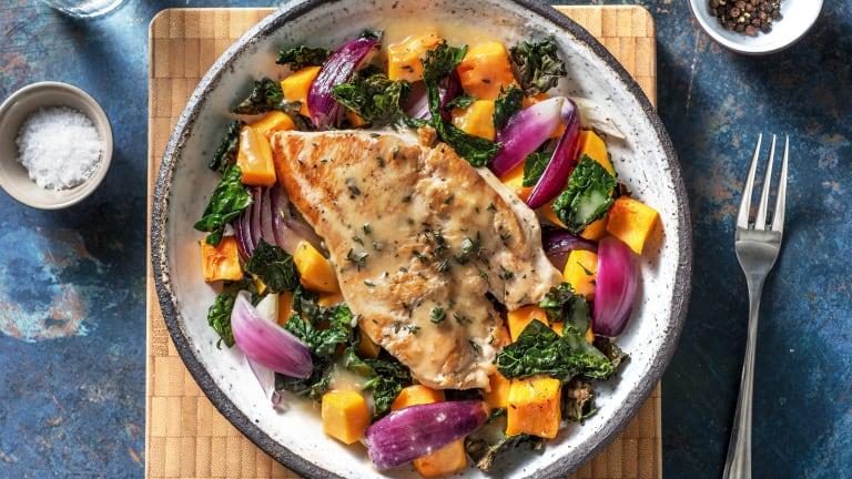 Harvest Turkey Sheet Pan