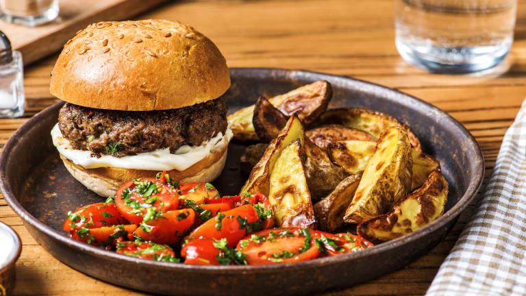 Herby Beef Burgers
