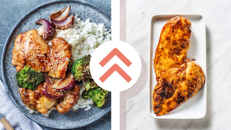 Hoisin Sticky Baked Chicken Breast