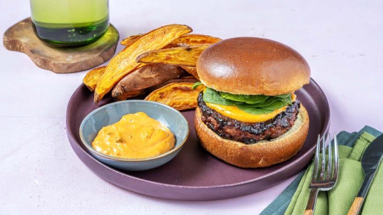 Hoisin Veggie Burgers