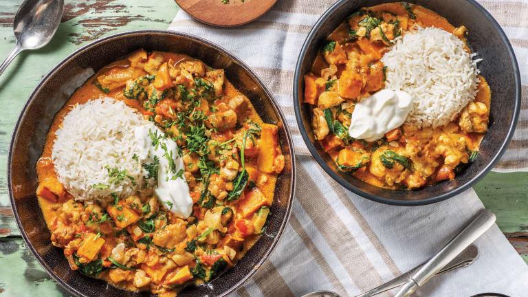 Indian Chicken & Kumara Curry