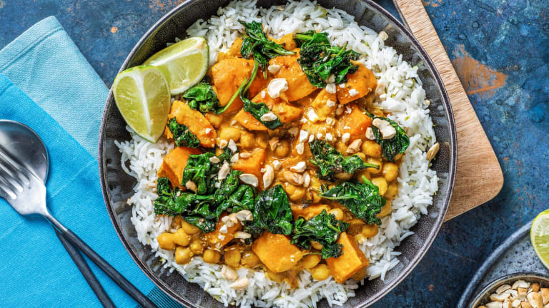 Indonesian Inspired Chickpea Curry