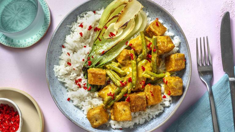 Indonesian Spiced Tofu Curry