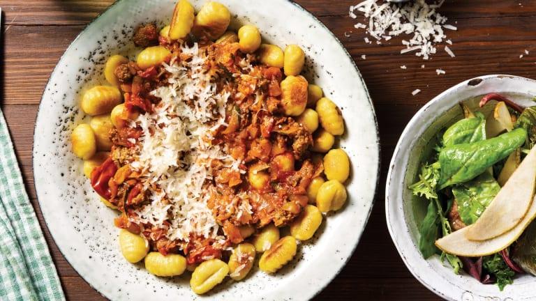 Italian Beef & Gnocchi Bolognese