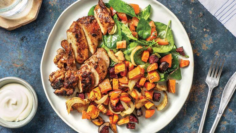 Jerk Chicken & Roasted Veggies