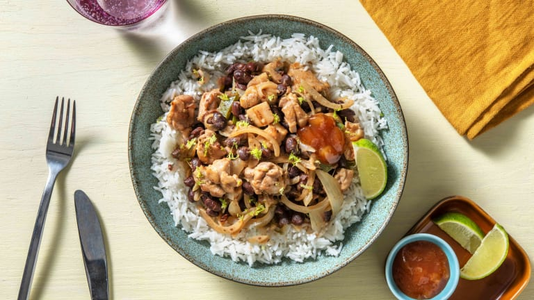 Jerk Style Chicken and Black Bean Curry