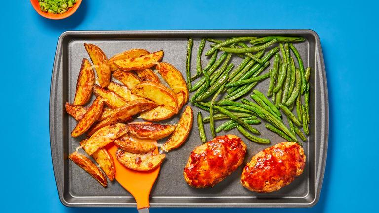 Kickin' Orange BBQ Turkey Meatloaves
