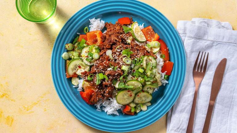 Korean BBQ-Inspired Beef Bowls