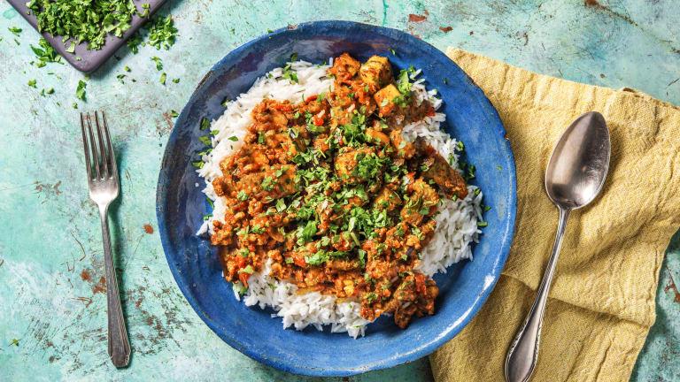 Lamb and Mushroom Curry