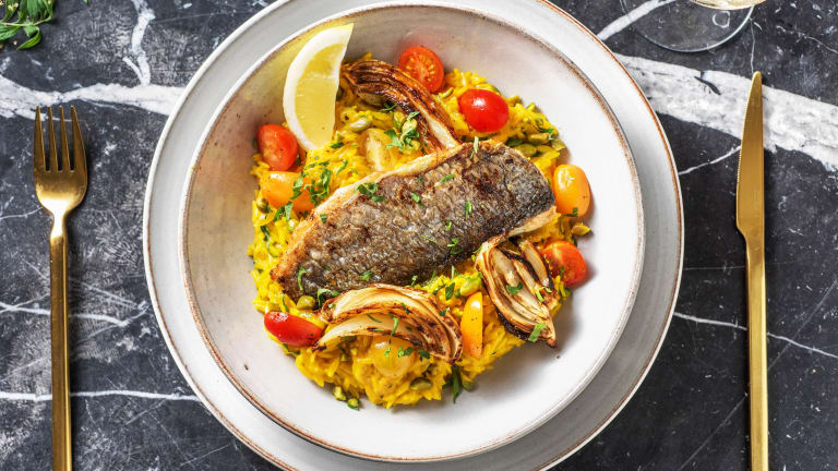 Lemony Pan-Fried Bream