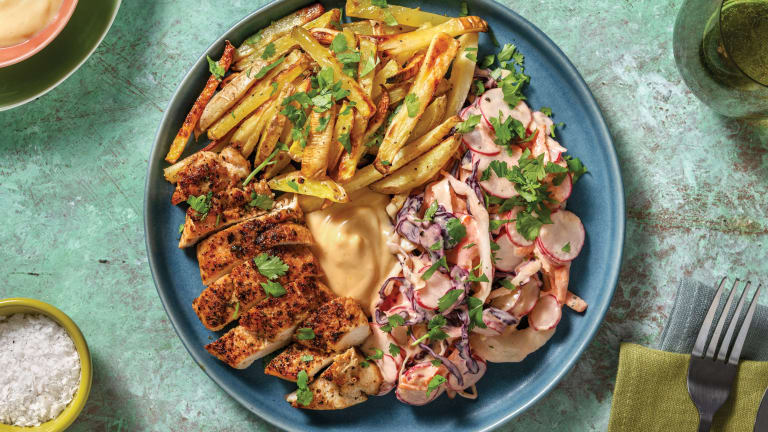 Caribbean Chicken & Mango Mayo