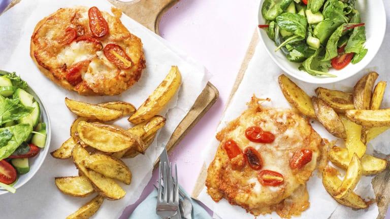 Naan-gherita Pizza