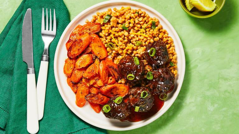 Tunisian-Spiced Meatballs