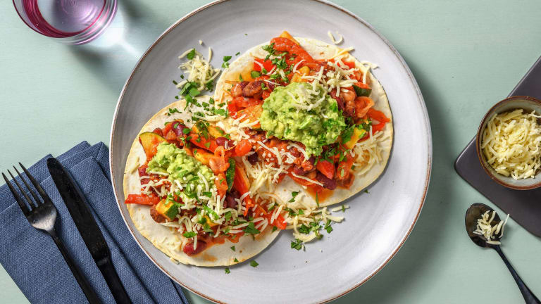 Mexican Beanie Tostadas